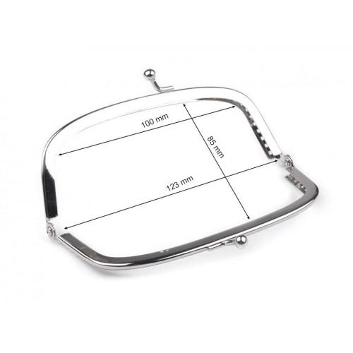 Rámček na výrobu kabelky našívací 5x13 cm polotovar