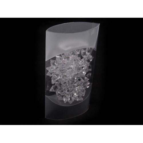 Plastové brúsené kamene 45 mm vločky