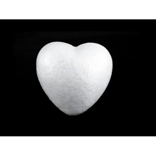Srdce polystyrén Ø100 mm