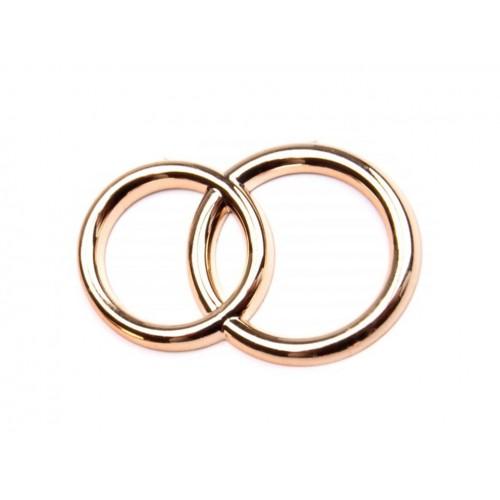 Dekorácia svadobné prstene 22x32 mm