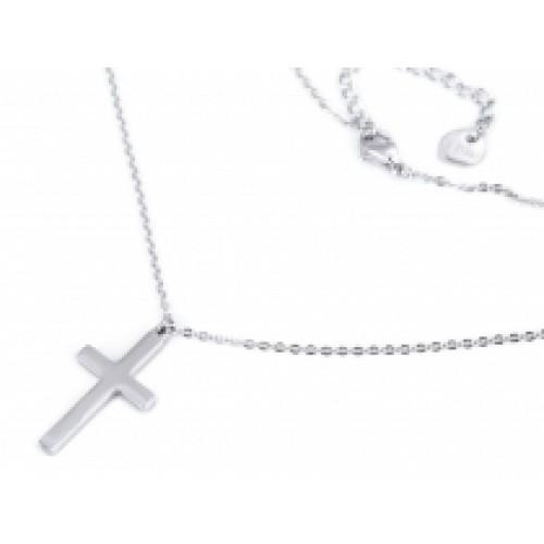 Náhrdelník z nerezovej ocele krížik