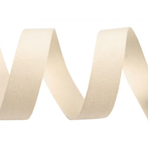 Bavlnená stuha šírka 15 mm