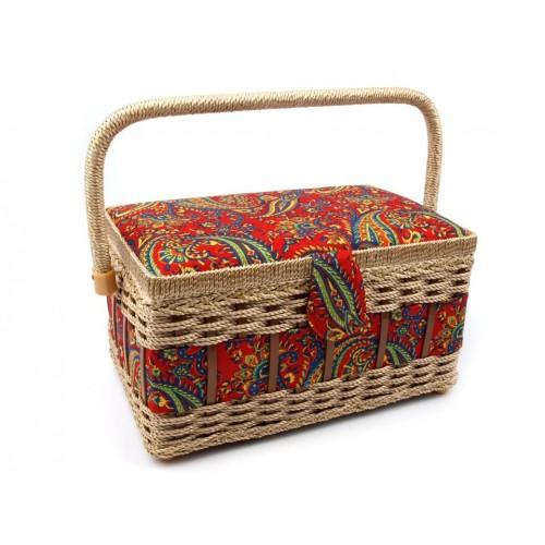 Košík na šijacie potreby čalúnený