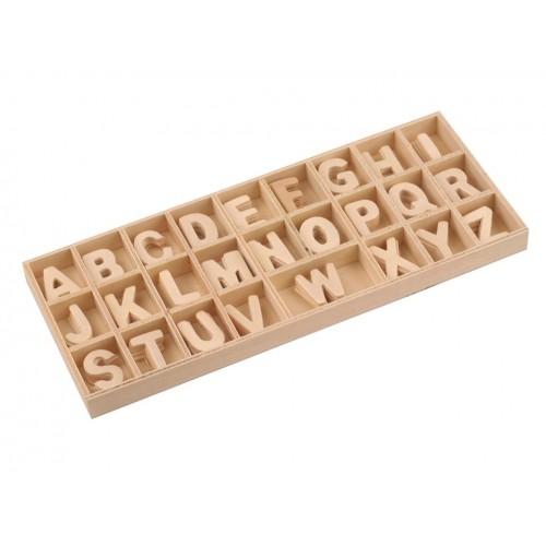 Drevené písmená v krabici 23mm