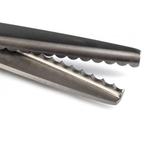 Nožnice entlovacie dĺžka 23 cm oblúčiky