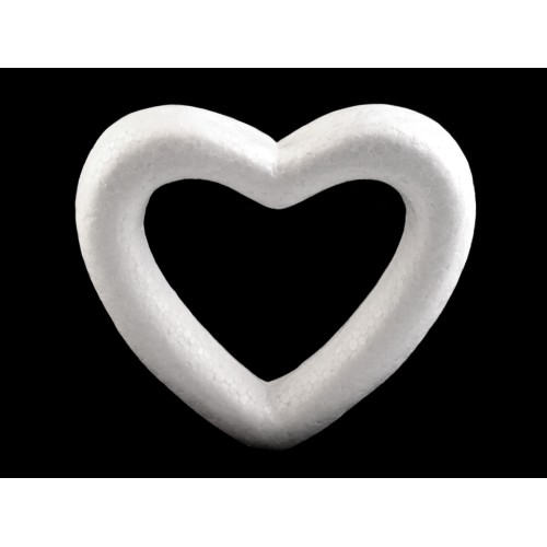Srdce 105x110 mm polystyrén