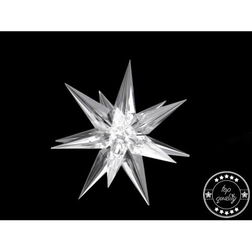 Dekorácia hviezda Ø9 cm 3D