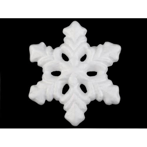 Snehová vločka Ø13 cm polystyrén