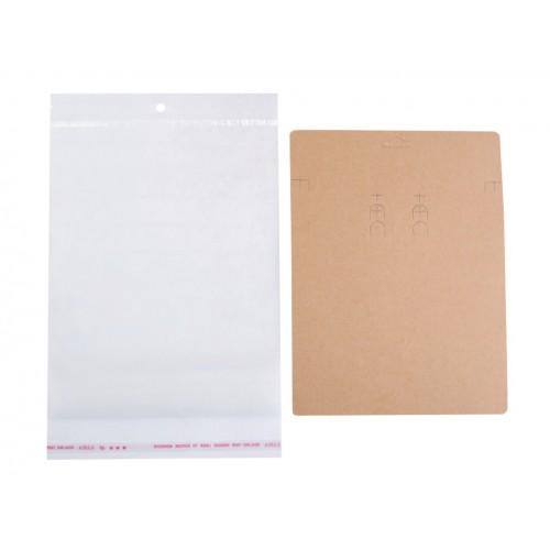 Karta na bižutériu s visačkou a sáčikom 150x200 mm