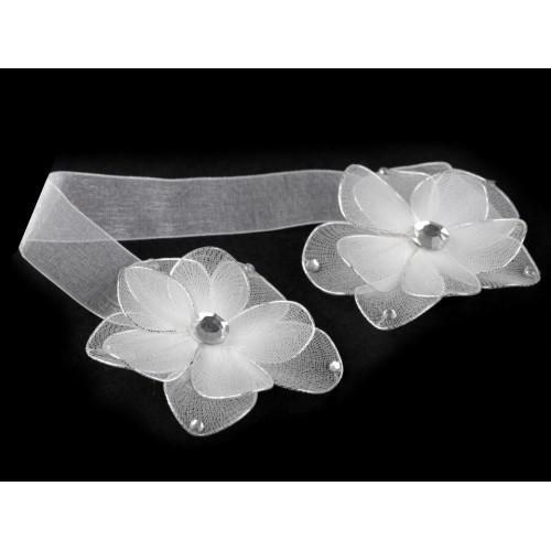 Magnetická spona na záves kvet Ø7,5 cm