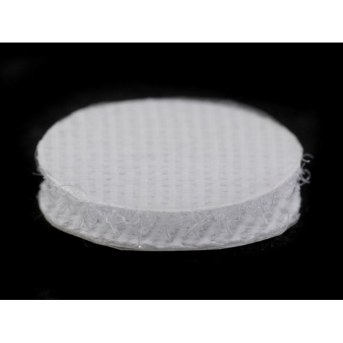 Suchý zips samolepiaci krúžky Ø15 mm