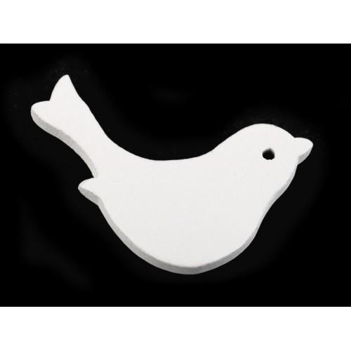 Drevený vtáčik 40x60 mm