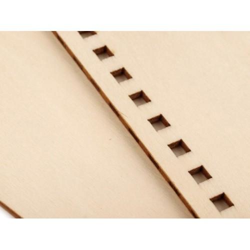 Drevené dosky na výrobu zápisníka