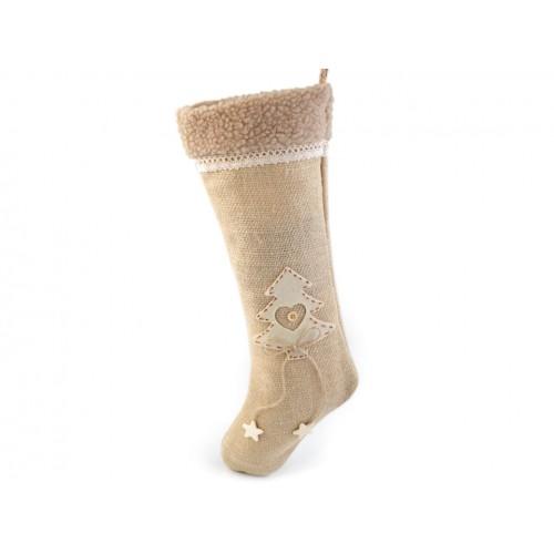 Mikulášska topánka 16x42 cm