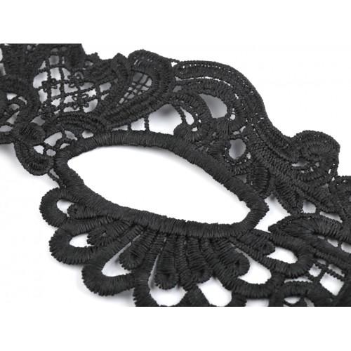 Karnevalová maska - škraboška čipkovaná