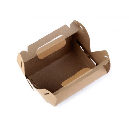 Papierová krabička natural s uchom