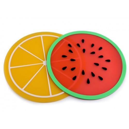 Silikónová podložka / prestieranie ovocie Ø24,5 cm