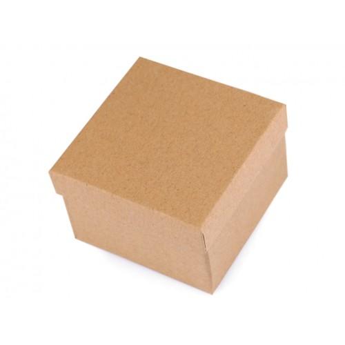 Krabička darčeková na hodinky natural 9x9 cm