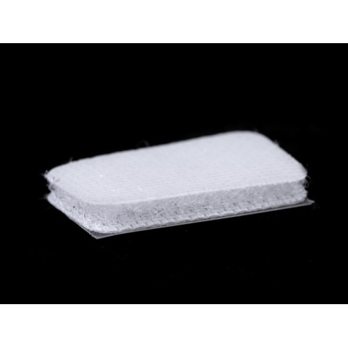 Suchý zips samolepiaci obdĺžniky 25x32 mm