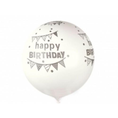 Nafukovací párty balónik veľký Happy Birthday