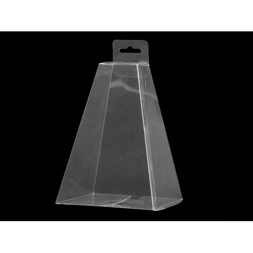 Plastová krabička na zavesenie pyramída