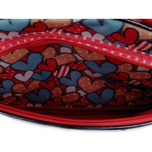 Dievčenská cestovná športová taška