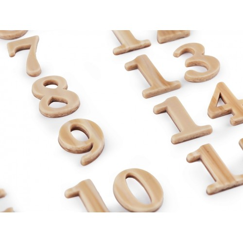 Sada čísiel na adventný kalendár 1 - 24