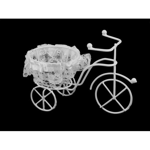 Dekorácia bicykel s košíkom